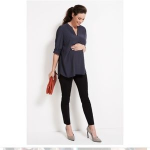 Liverpool Maternity Black Jeggings